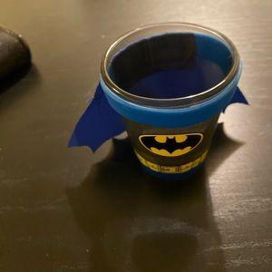 Batman shirt glass.